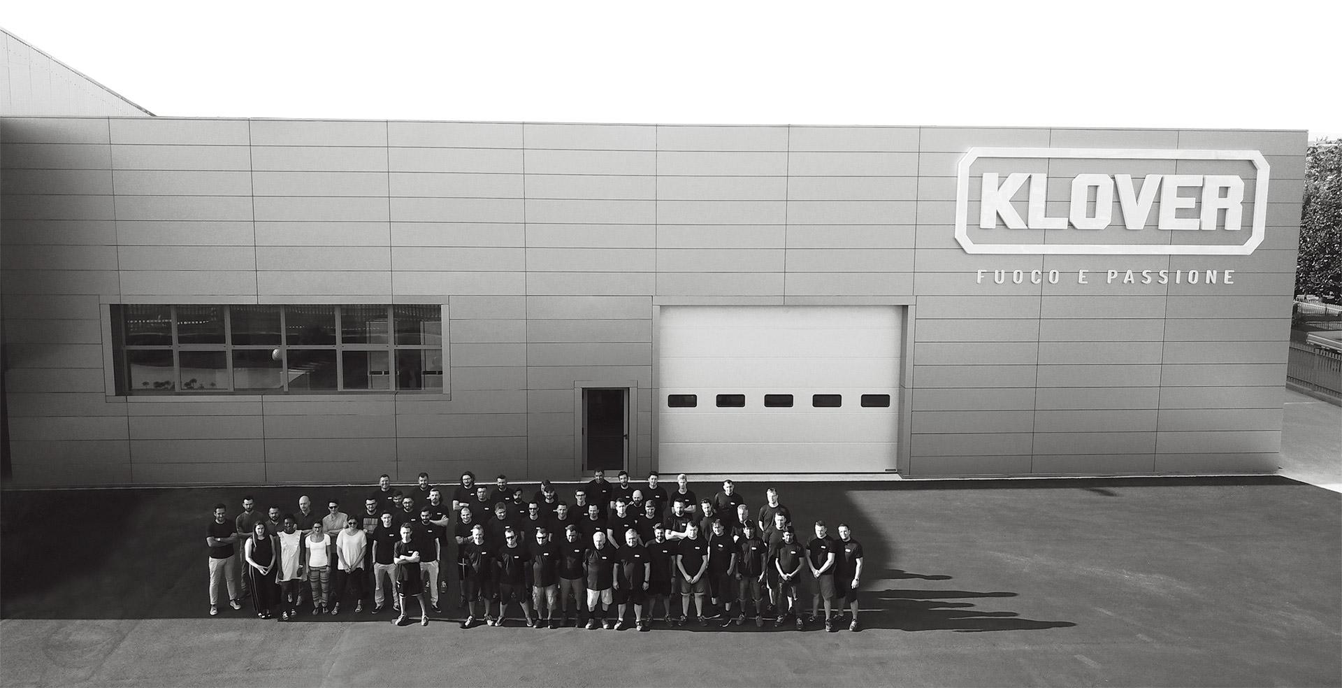 <h1>Klover <span>Storia di un'azienda italiana</span></h1> - Klover